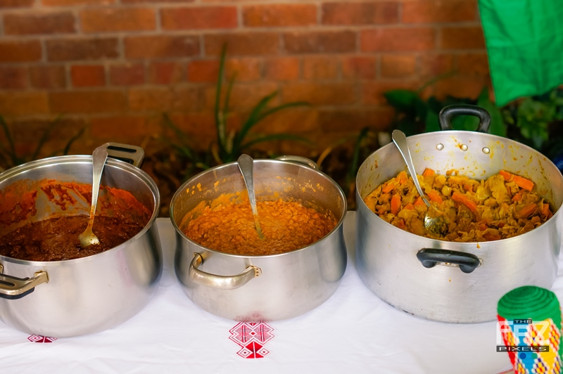 Food from Eritrean/Ethiopian Stand