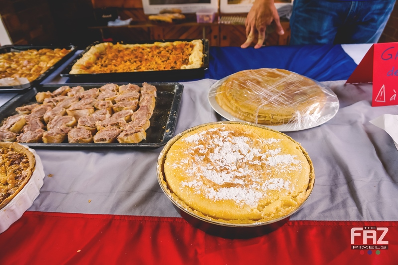 Food at French Stand