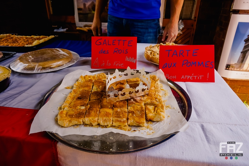 Galette des Rois at the French Stand